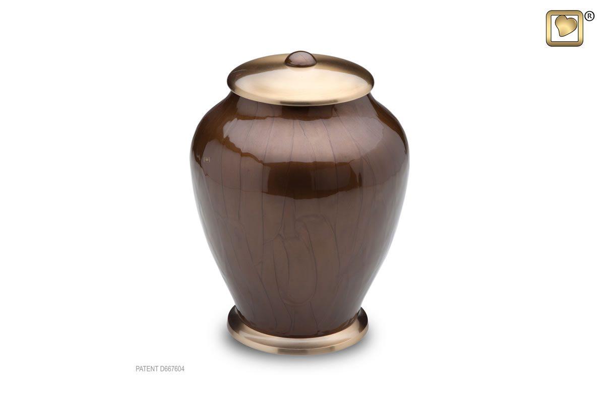 Simplicity Urn Tall - Bronze