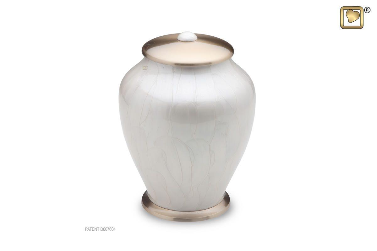 Simplicity Urn Tall - Pearl
