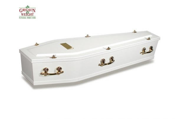 Ashford White Coffin
