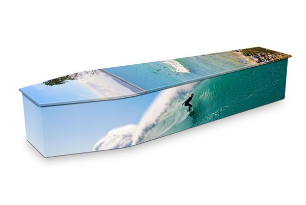 Noosa Surfing Coffin