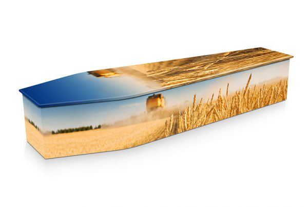 Wheat Harvest Coffin
