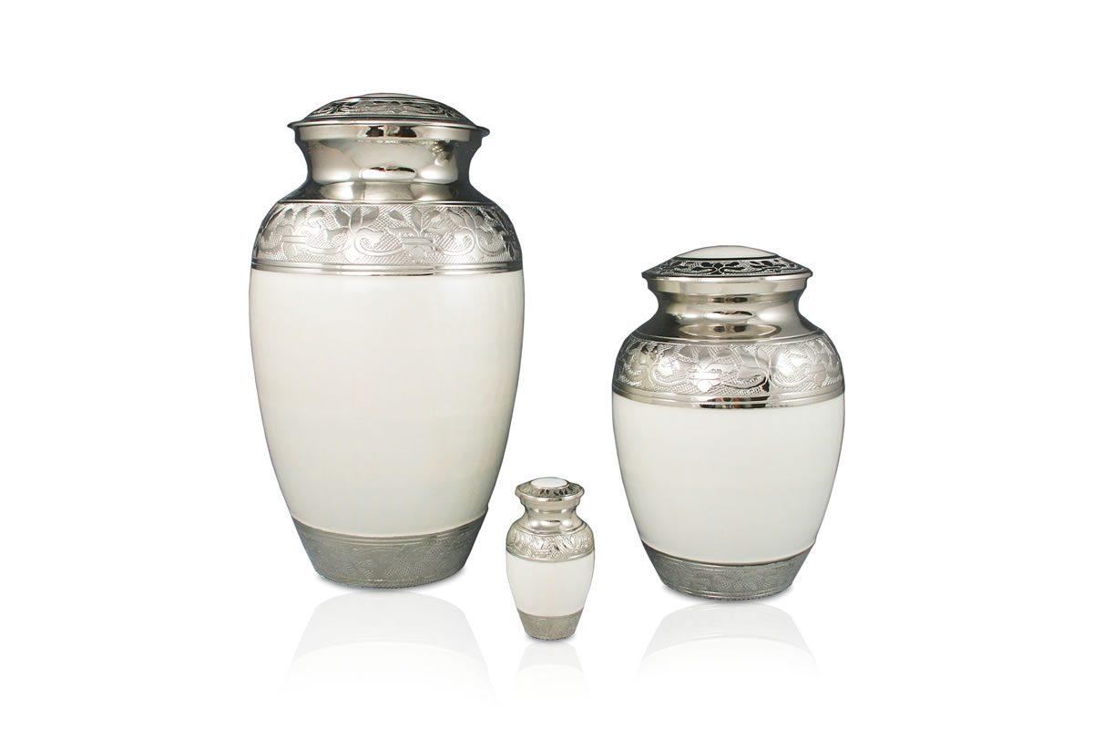 Classic Urn in White
