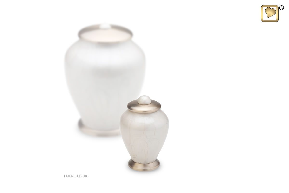 Simplicity Urn Tall - Keepsake - Pearl