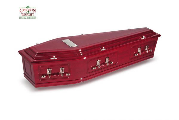 Ashleigh Rosewood Coffin