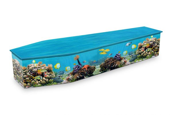 Coral Reef Coffin
